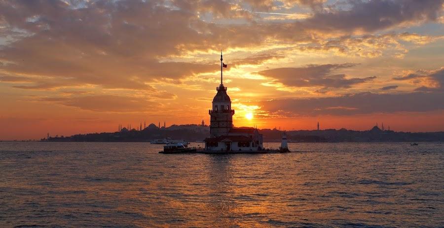 La Torre de la Doncella en Estambul