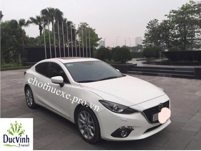 Cho thuê xe Mazda 3 2016 đi ngoại tỉnh