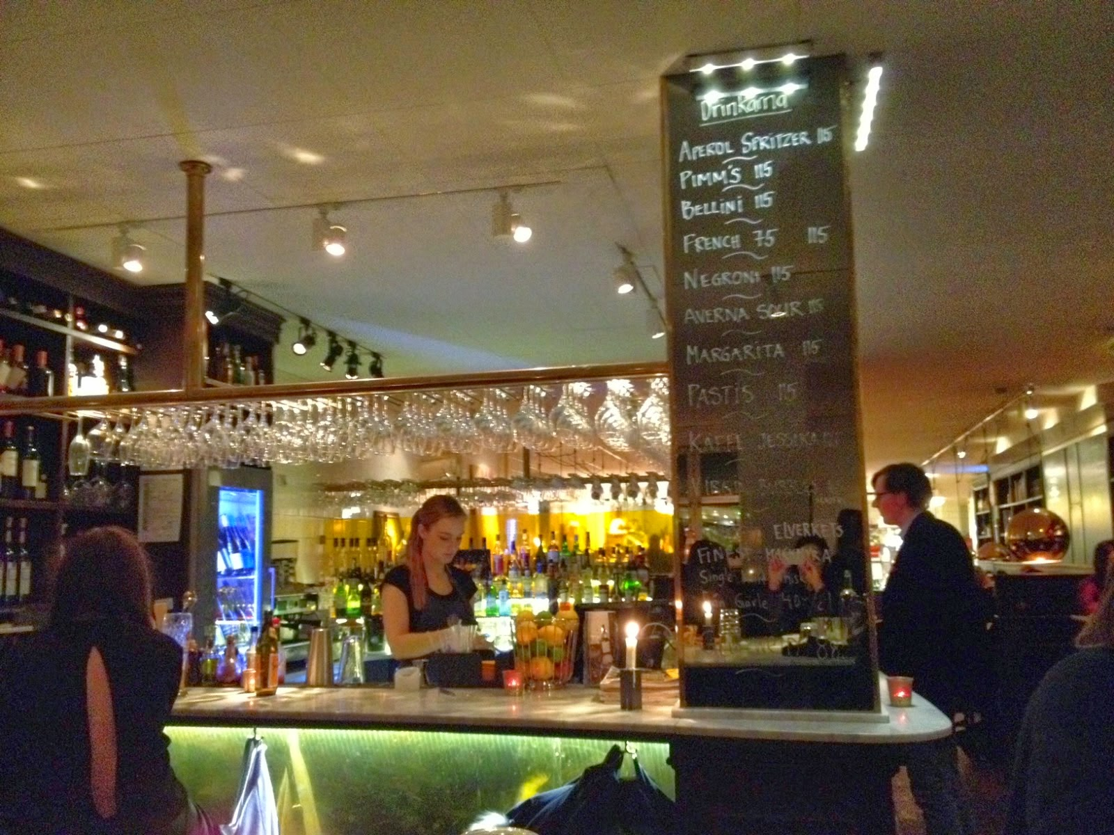 "Photo du bar du restaurant ""Elverket"" à Stockholm"