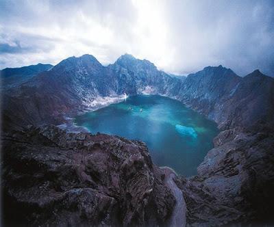 El Monte Pinatubo en Filipinas
