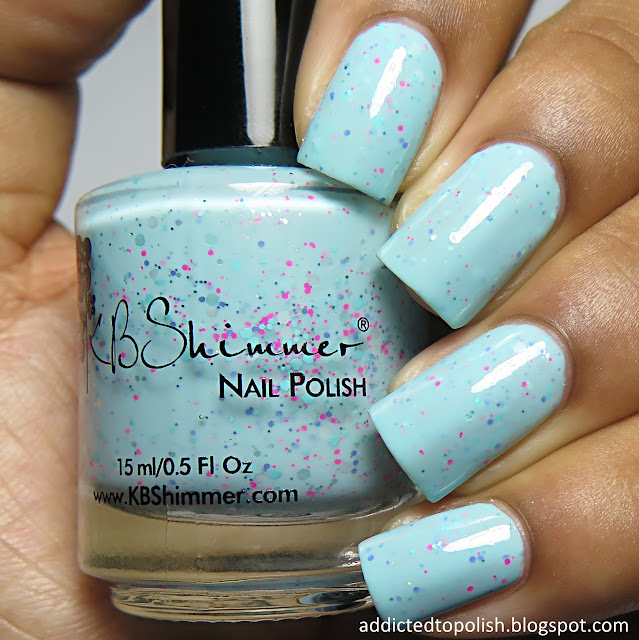 kbshimmer pool paradise spring 2016 aqua crelly