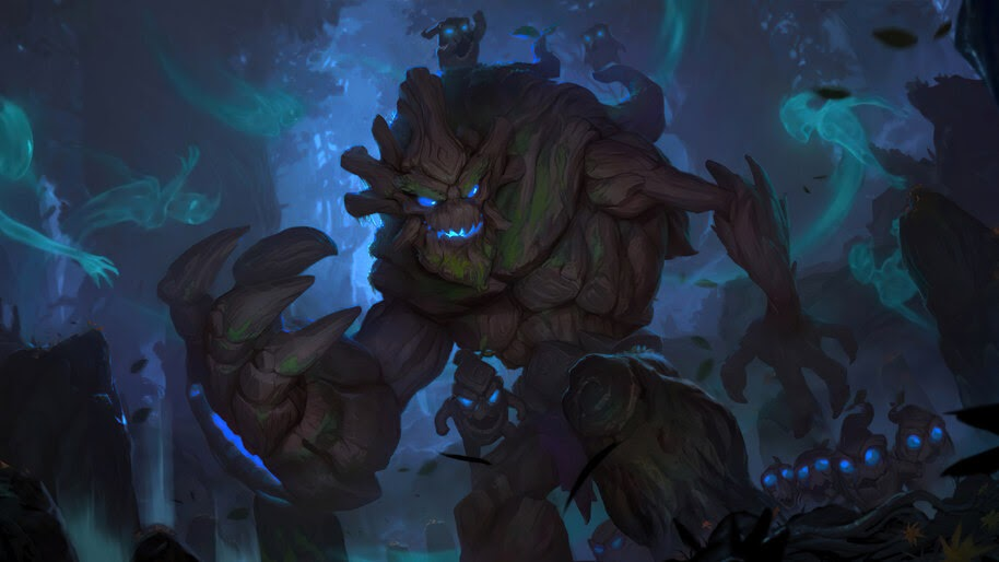 Maokai, LoL, League of Legends, Legends of Runeterra, 4K, #3.1781