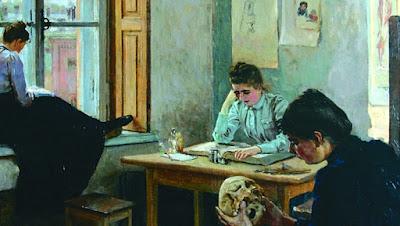 Etudiantes en Anatomie (1880), Elena Polenova