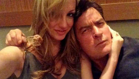 Charlie Sheen and Brett Rossi engaged