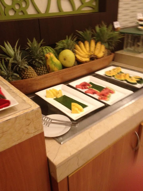 Fruits at H Cafe