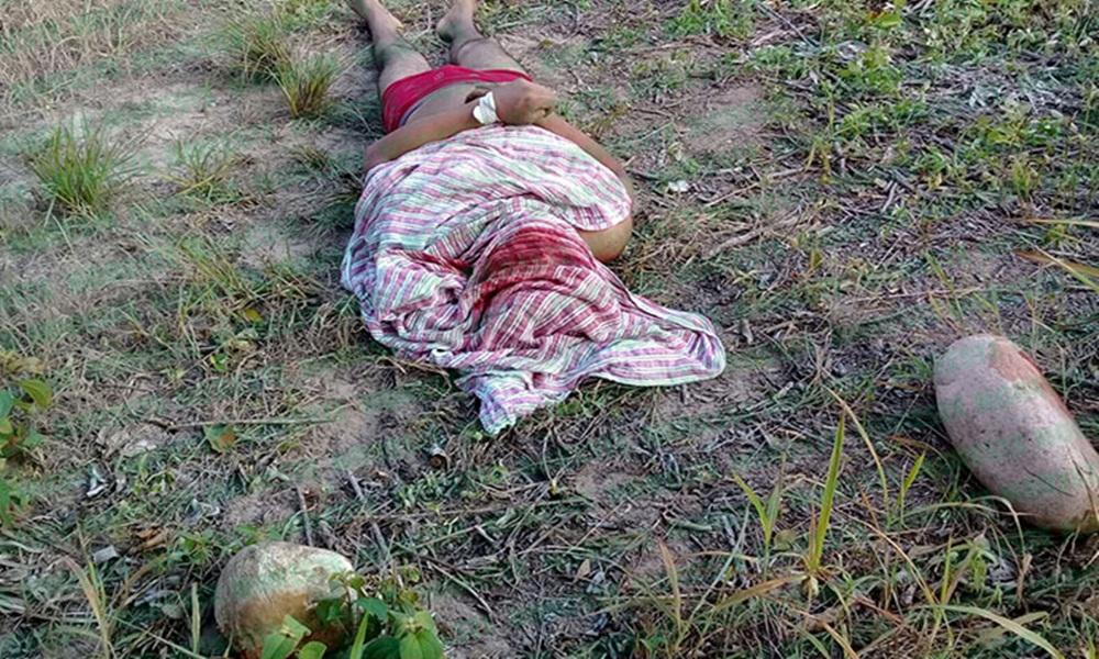 Localizan cadáver envuelto en una sábana y con el rostro destrozado, en Veracruz.