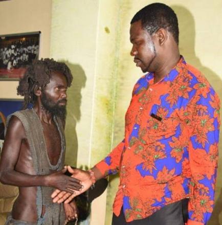 madman accepts jesus receiving healing