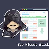 Cách Tạo Widget Sticky Trong Blogspot Sidebar