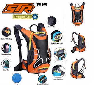 Tas Sepeda STR orange
