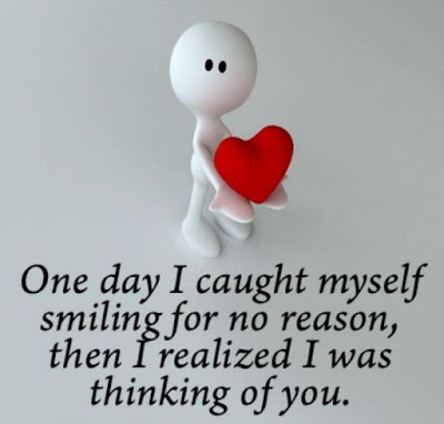 Happy Birthday Wishes And Quotes For the Love Ones: one day i caught myself smiling for no reason,
