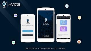 cVIGIL app for violation of model code of conduct