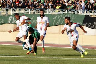 الدوري الجزائري : مولودية الجزائر يفوز علي إتحاد البليدة بالاربعة اليوم الجمعة 30/3/2018