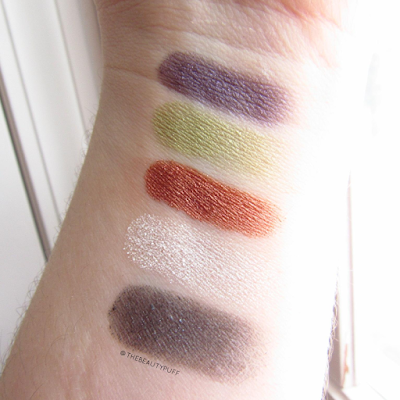 doucce freematic swatches - the beauty puff