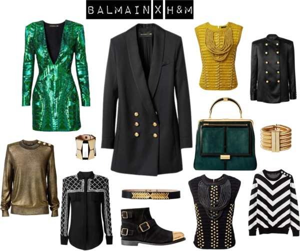 Fashion Inspirations - Balmain for H&M