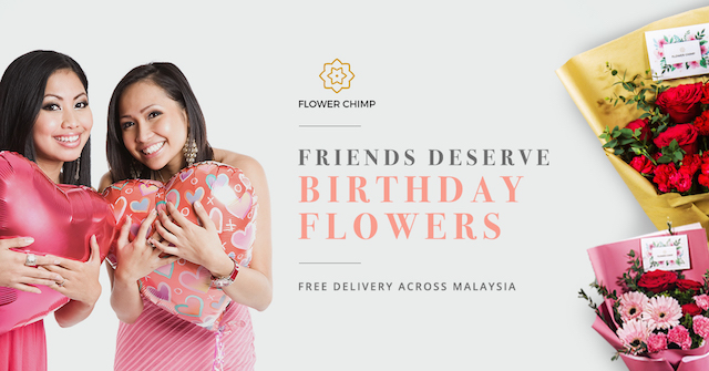 Your friends deserve birthday flowers too!
