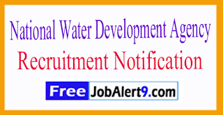 NWD National Water Development Agency Recruitment Notification 2017 Last Date Within - 60 Days