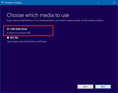 How to Create Installation Media for Windows 10 with UEFI support
