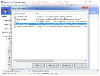 Direct Download latest version of Eusing Free Registry Cleaner