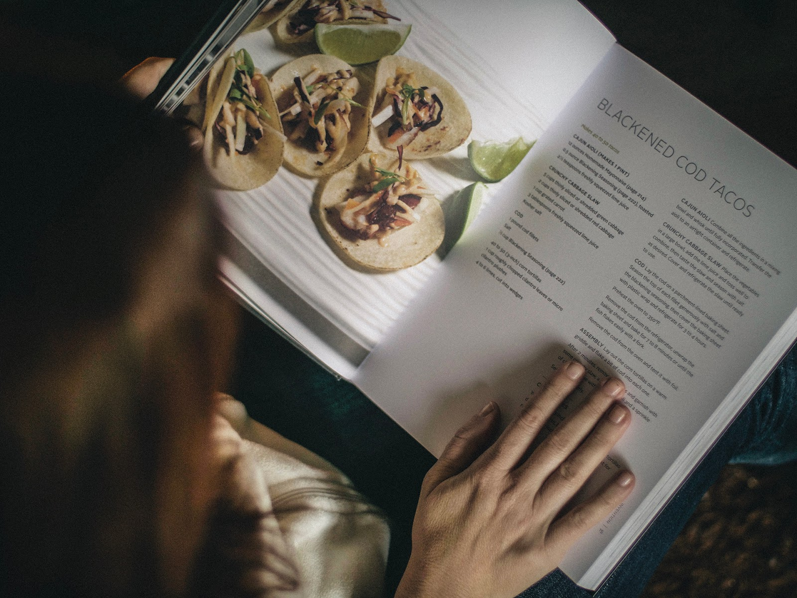Local Food Rocks: Beginnings by ONTHEMARC recipe for blacked cod tacos