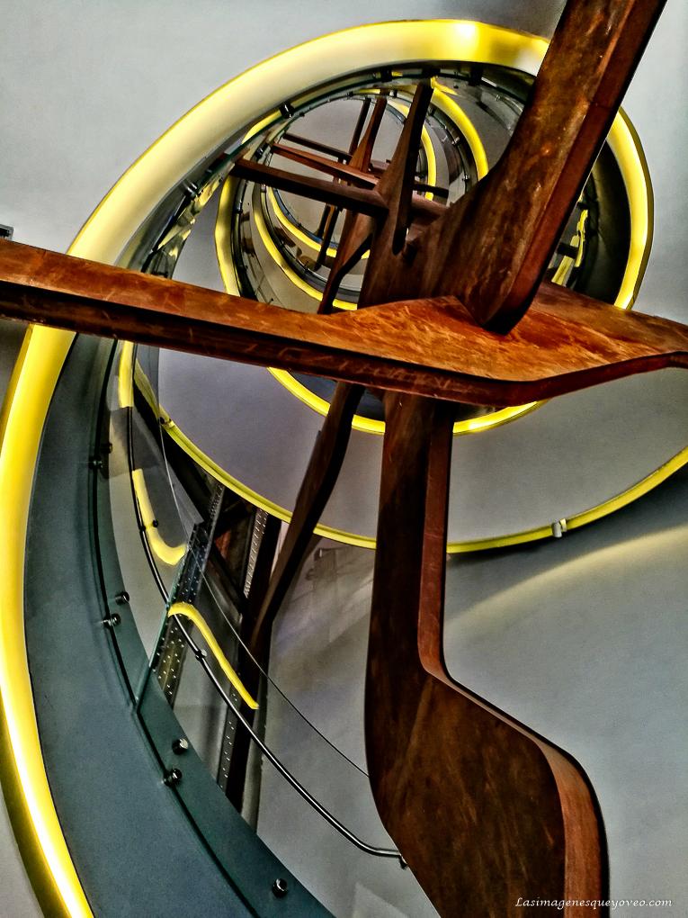 Patrón de composición fotográfica geométrico. Espiral áurea o de Fibonacci