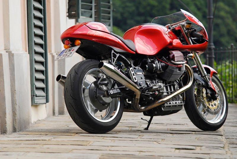 """racing cafè: moto guzzi v11 """"cafè sport"""""""