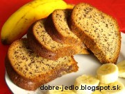 Banánová bábovka - recept