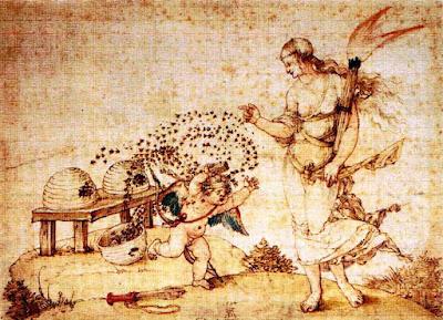 Eros, Venus and the Bees, Albrecht Dürer, 1514