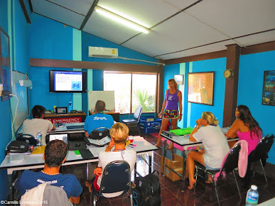 PADI IDC for March 2016 on Koh Lanta is halfway