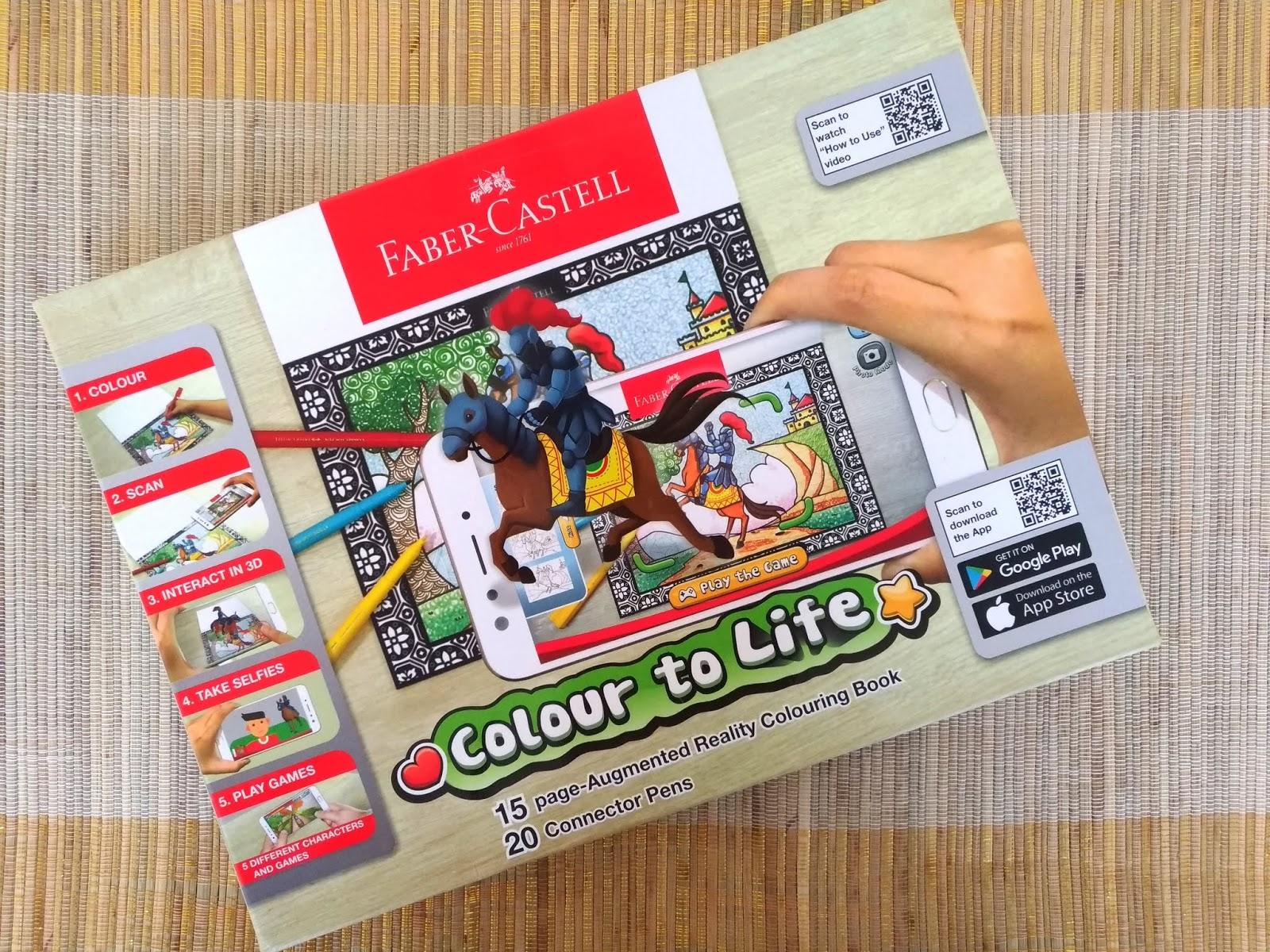 Nathalia Dp Bermain Sambil Belajar Bersama Colour To Life Faber Castell