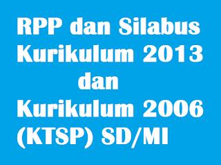 Download RPP dan Silabus Kurikulum 2013 dan Kurikulum KTSP