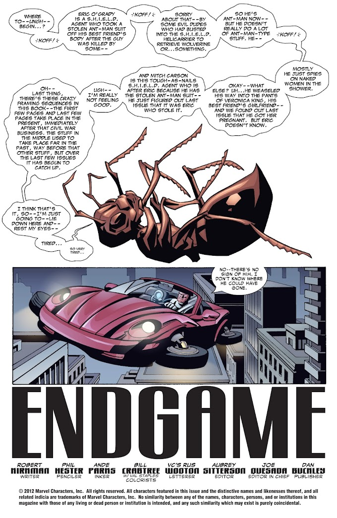 Countdown to Endgame Day 7: Ant-y Matter