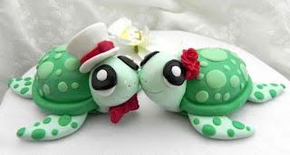 best turtles wedding cake topper
