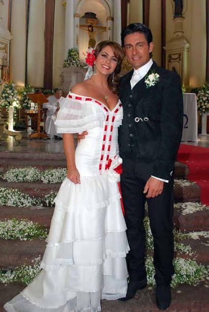 Valentina e José Miguel de noivos