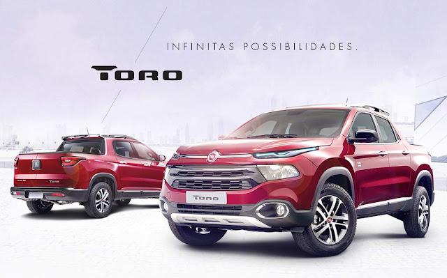Picape Fiat Toro - Lançamento