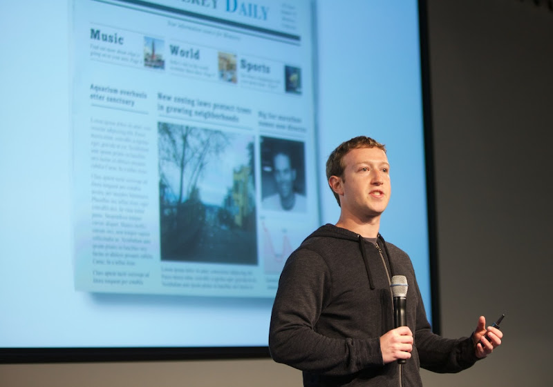 Facebook's Own Study Find Service Hindered by Lack of Local News