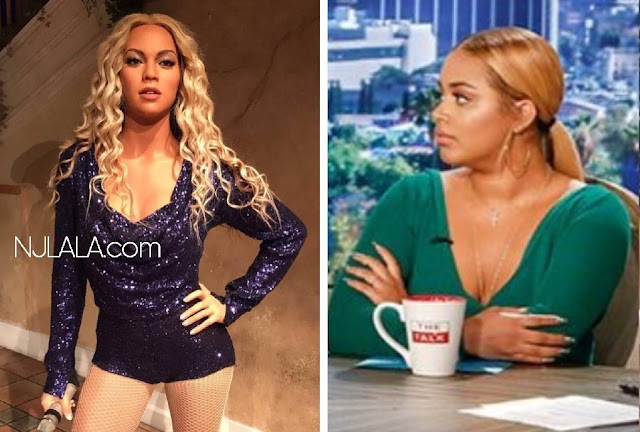 "Lauren London speaks on Beyoncé's jacked up Madame Tussaud's wax figure: ""Whoever made the statue forgot a little bit of Beyonce's cocoa"""