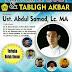 Ust Abdul Somad Tabligh Akbar di Dies Natalis STAI Nur Elghazy, Bekasi, Dihadiri Generasi Reformasi