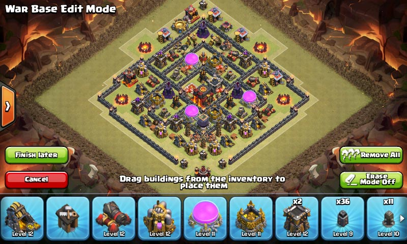 Susunan Formasi Base War TH 8 Update Terbaru 10