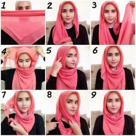Tips mudah dalam memakai jilbab moderen untuk remaja