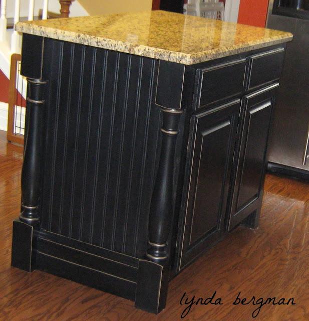 Kitchen Cabinets Painted Black: LYNDA BERGMAN DECORATIVE ARTISAN: SHANNA'S NEWLY PAINTED