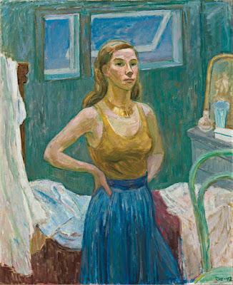 Autoportrait (1942), Tove Jansson