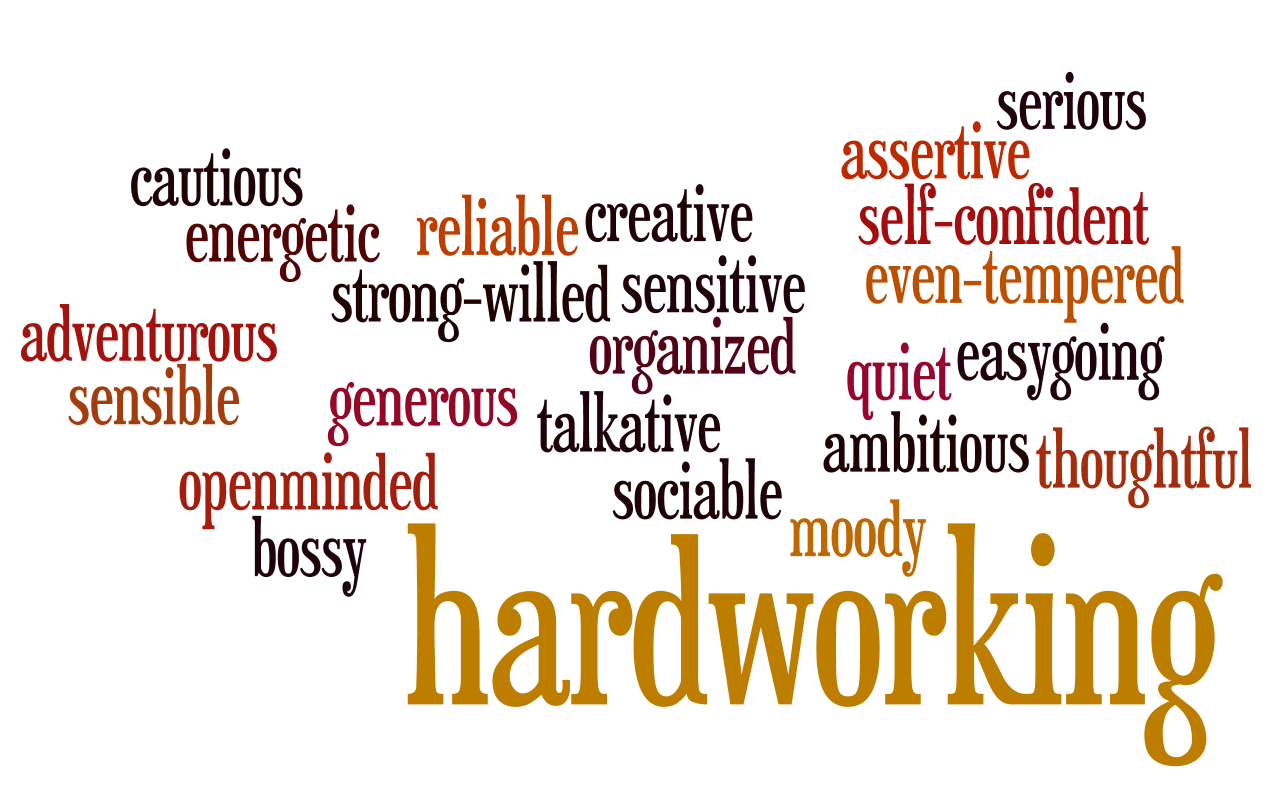 The Interactive English Classroom Personality Adjectives