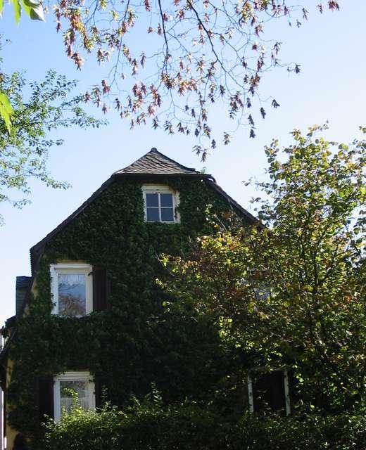 Bad Homburg Haus in der Nähe der Erlöserkirche