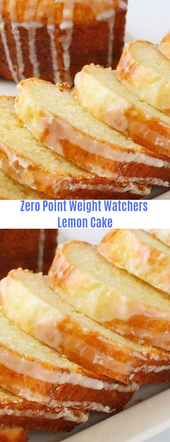 Weight Watchers Lemon Cake
