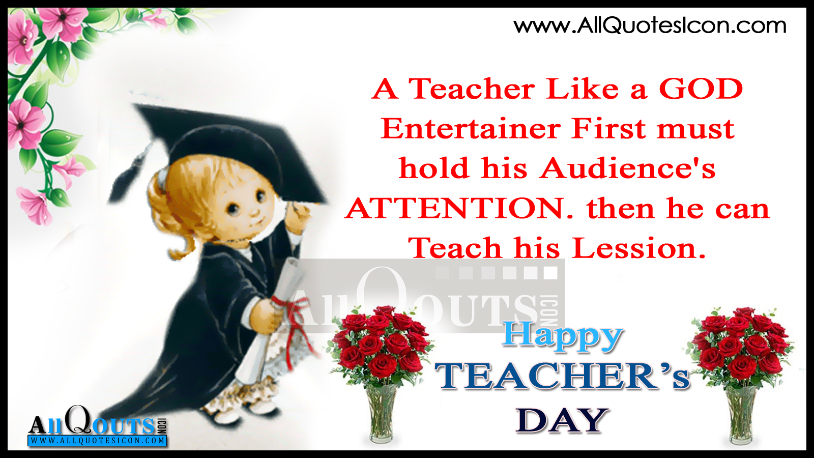 Birthday Speech For Teacher Quotes, Quotations & Sayings 2018