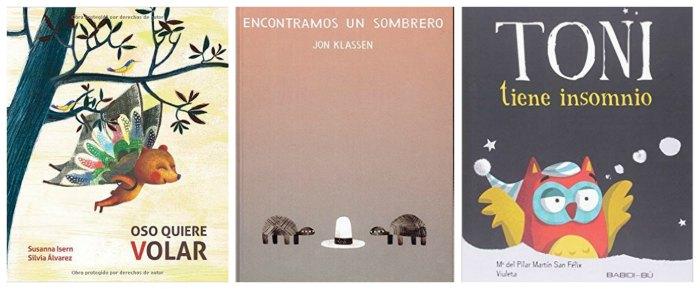 mejores cuentos y libros infantiles del 2016, osos volar, sombrero klassen, toni insomnio