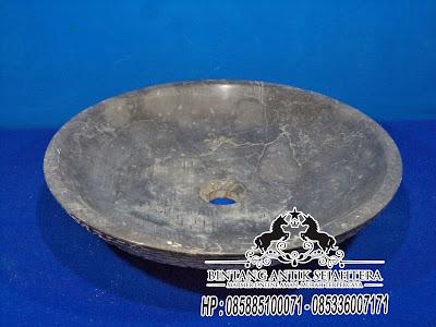 Wastafel Batu Marmer