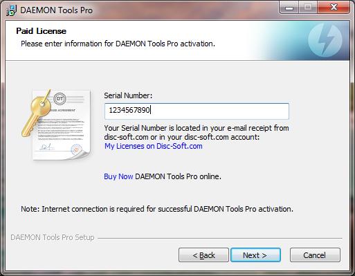 Daemon Tools серийный номер бесплатно - фото 3