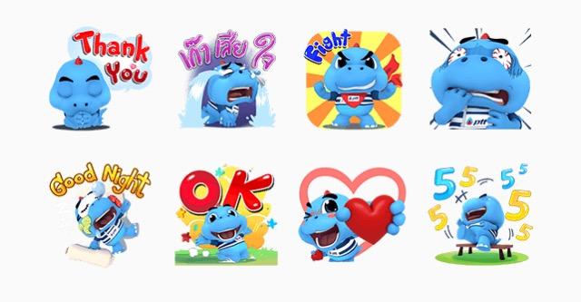 LINE Stickers Community: Free-Godji Energy Hero Pop-Ups sticker
