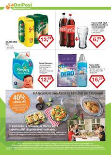 CATALOG LA DOI PASI 5 - 28 februarie 2019 promotii coca cola